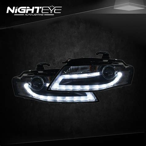 audi a4 headlights nighteye audi a4 b8 headlights 2009 2012 a4l led headlight