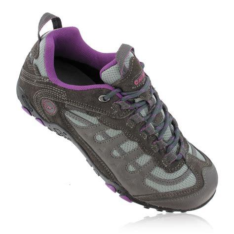 womens waterproof shoes hi tec penrith low s waterproof walking shoes ss17