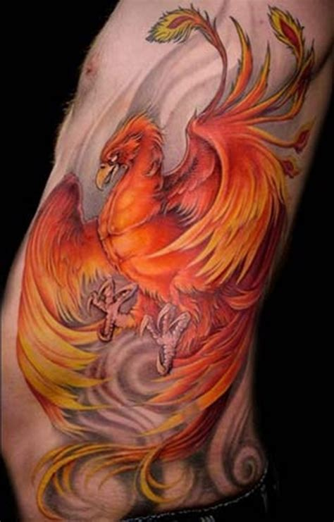 tattoo phoenix flames bird of fire phoenix tattoo designs history and meanings
