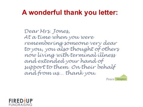 Personal Thank You Letter Personal Thank You Letters For