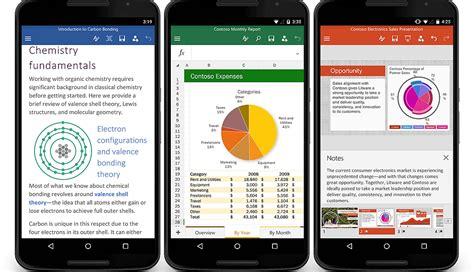 microsoft office android 無料でmicrosoftがandroidスマホ向けword excel powerpointアプリをついに提供開始 gigazine