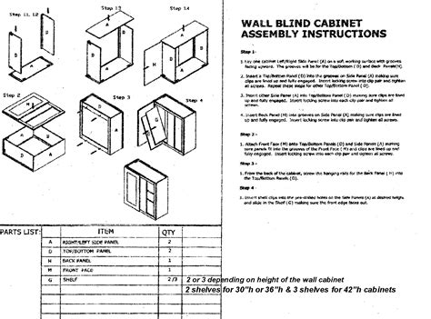 kitchen cabinet assembly assembly instruction for rta kitchen cabinets