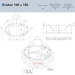 baignoire baln 233 o d angle joker 140x140 grandform