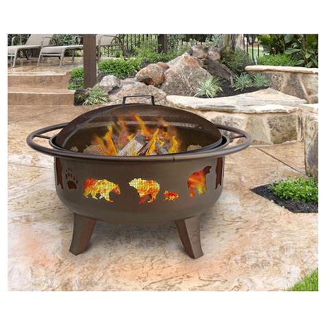 Landmann Firepit Landmann 30 Quot Pit With Grate 588494 Pits Patio Heaters At Sportsman S Guide