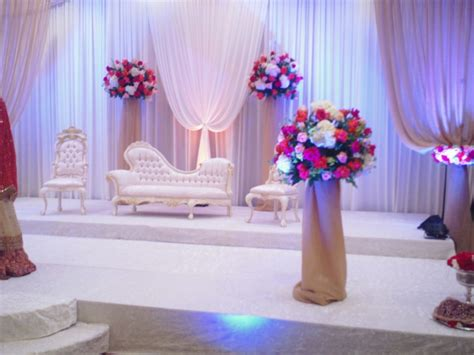 muslim wedding decor ideas archives party decoration picture 3 white color decorations muslim wedding weddings eve