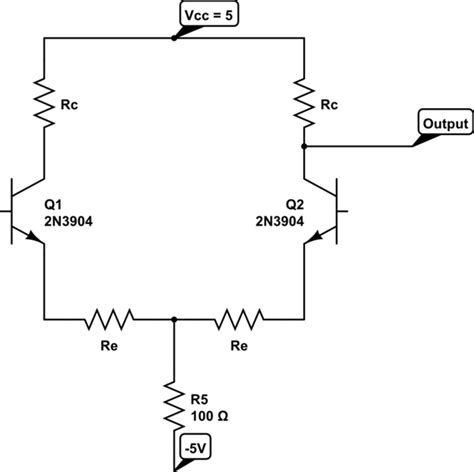 transistor lifier impedance bjt output impedance of differential lifier electrical engineering stack exchange