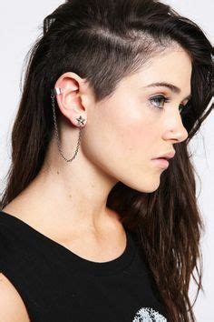how to style half shaved haircut for women 1000 images about sidecuts undercuts on pinterest