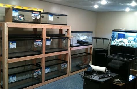 Aquarium Rack System tank rack system support edge only reef central