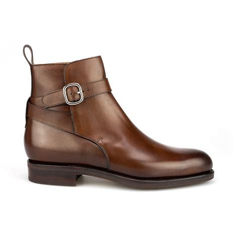 jodhpur boots in brown vegano carmina