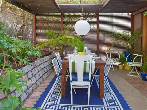 outdoor dining rooms stylish and functional outdoor dining rooms hgtv