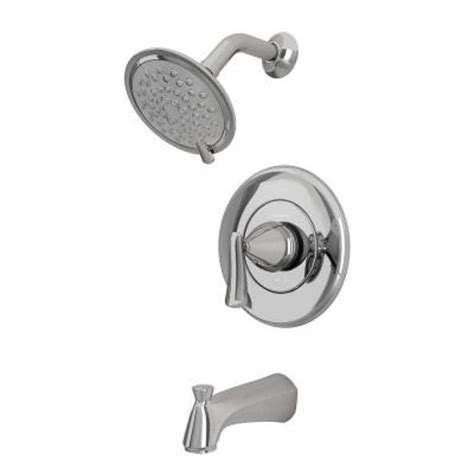 American Standard 3 Handle Tub Shower Faucet by American Standard Chatfield Single Handle 3 Spray Tub And