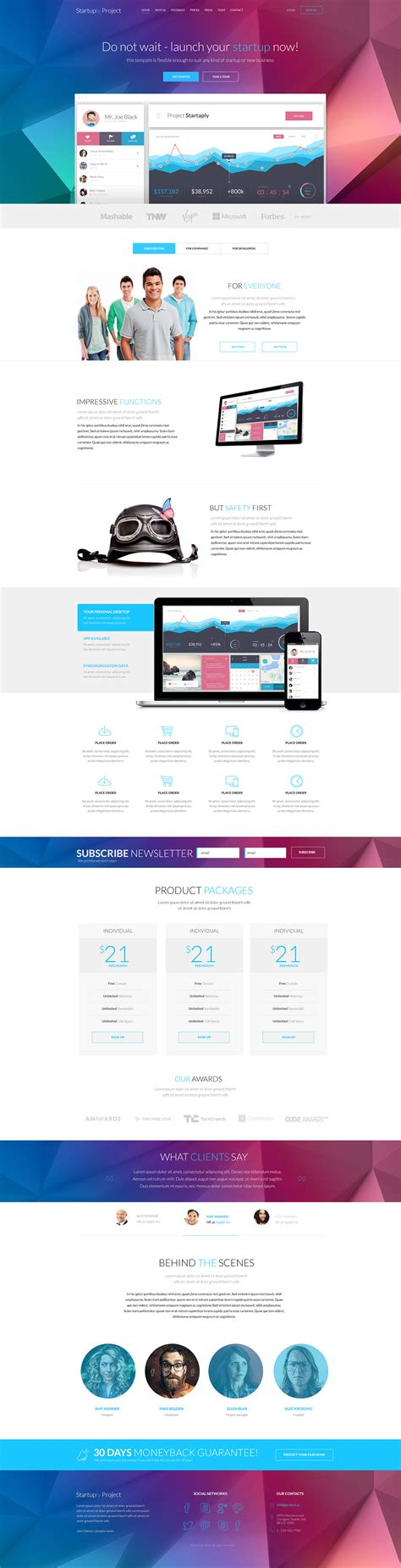 one page templates for blogger startuply one page template review