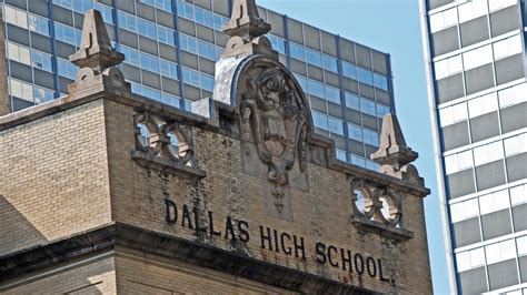 Mba Schools In Dallas by An Exclusive Look Inside The Historic Dallas High School