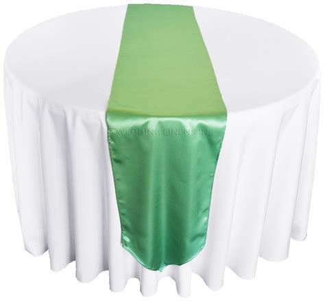 satin table runners green satin table runners wholesale