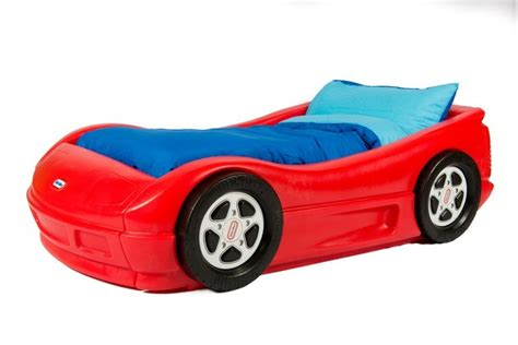 little tykes car bed childrens race car bed storm racing car bed with mattress