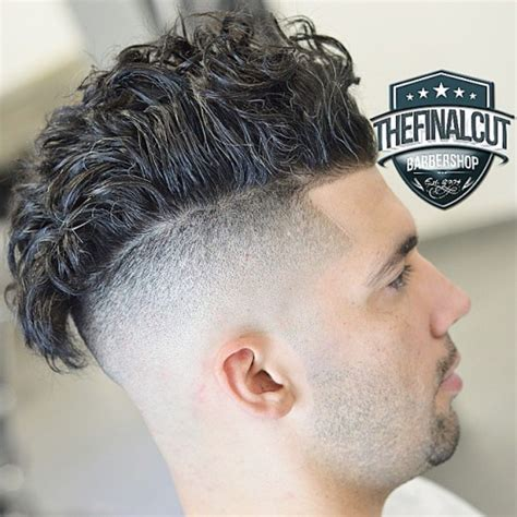 curly in back featered on the sides 40 pompadour haircuts and hairstyles for men