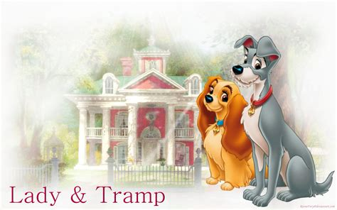 disney lady tramp images lady tramp hd wallpaper background photos 32875749
