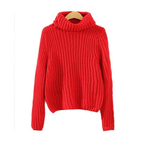 High Neck Cable Knit Sweater high neck cropped cable knit sweater st0230116 4