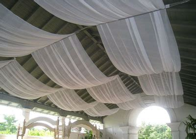 ceiling fabric draping wedding reception fabric draping sunnyside pavillion at
