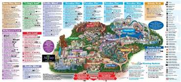disney california adventure park map disneyland inside out disneyland park information maps