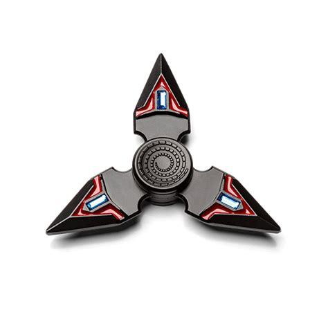 Fidget Spinner Aluminium 2 Knife King Of shuriken fidget spinner exclusive thinkgeek