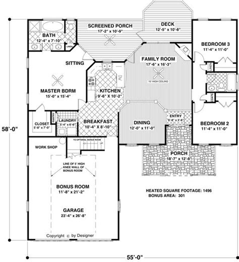 country cottage floor plans the small country cottage 6763 3 bedrooms and 2 5 baths