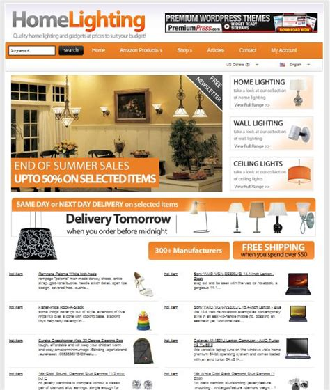 themes wordpress shopping cart free best e commerce wordpress themes for online shops dobeweb