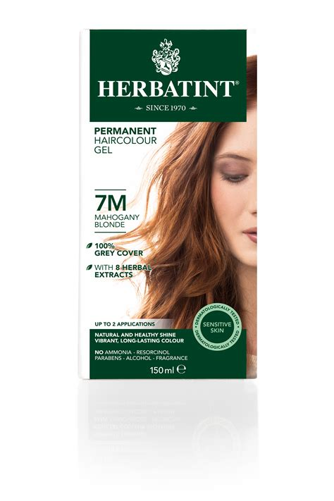 how to dye hair mahogany over the counter 7m mahogany blonde herbatint of 22 creative herbatint hair