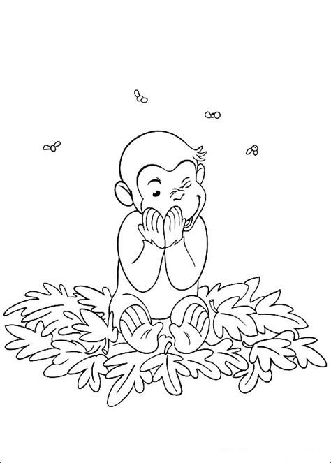 Free Curious George Coloring Pages For Kids Technosamrat Curious George Coloring Page
