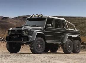 mercedes amg g63 6x6 gronos road vehicle by mansory