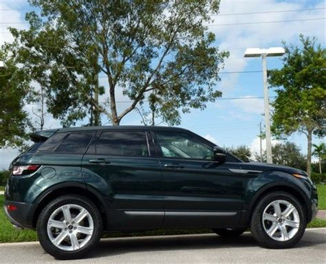 2000 land rover green 2013 land rover range rover evoque aintree green
