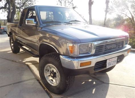 how petrol cars work 1989 toyota truck xtracab sr5 parental controls toyota tacoma extended cab pickup 1989 gray for sale jt4vn13gxk0008244 1989 toyota tacoma