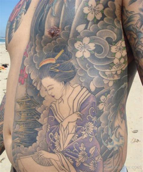 geisha tattoo on chest geisha tattoos tattoo designs tattoo pictures page 5
