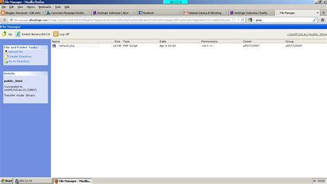membuat upload file di php cara membuat hosting gratis di idhostinger cidahu story