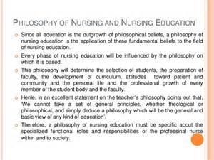 personal philosophy of nursing college essay homework academic
