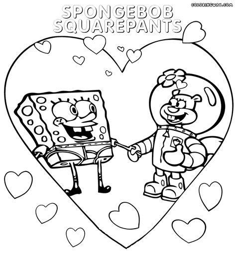 spongebob hockey coloring pages sandy cheeks coloring pages