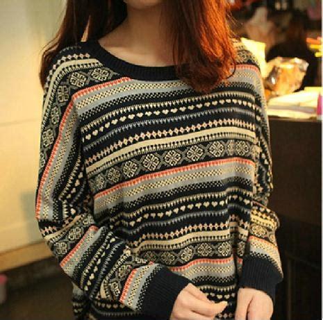 Sweater 3 Second Original 50 retro striped pullover sweater badbd on luulla