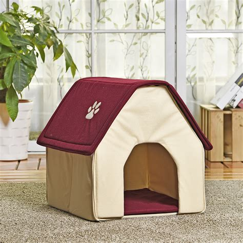 dog house soft soft dog house puppy kennel with home shape 2 colors jaja store pet dog