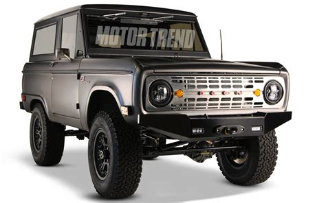 icon bronco 2011 sema icon previews new mustang hearted ford bronco