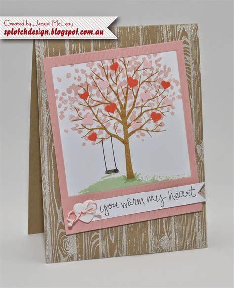 tree card splotch design independent stin up demonstrator