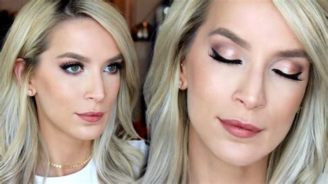 Drugstore Wedding Makeup Tutorial   Rose Gold   YouTube