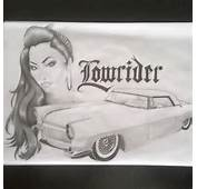 Chola Chicano Lowrider Car Cars Hottie Girl Pencil