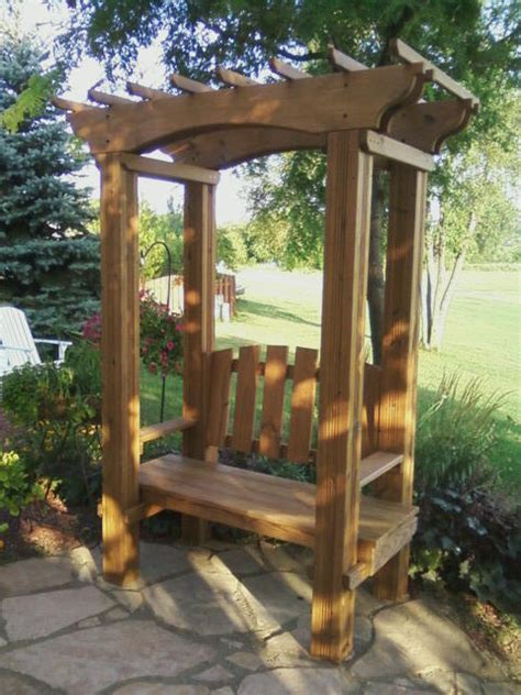 arbour benches wooden arbor kits