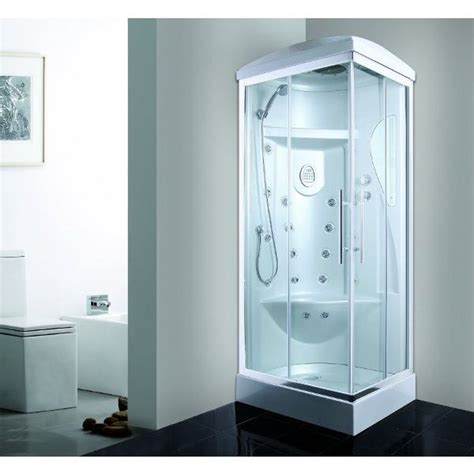 box doccia completi di piatto box idromassaggio cabina 70x90cm o 70x110cm 18 idrogetti vi