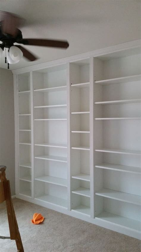 how to build a built in bookcase into a wall best 25 diy bookcases ideas on diy projects
