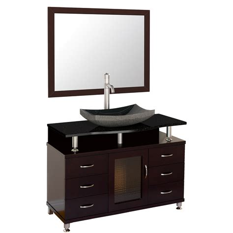 black bathroom drawers accara 42 quot bathroom vanity with drawers espresso w