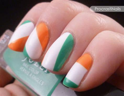 Ireland Flag Nail