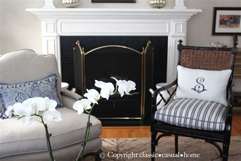 classic casual home new white and blue living room
