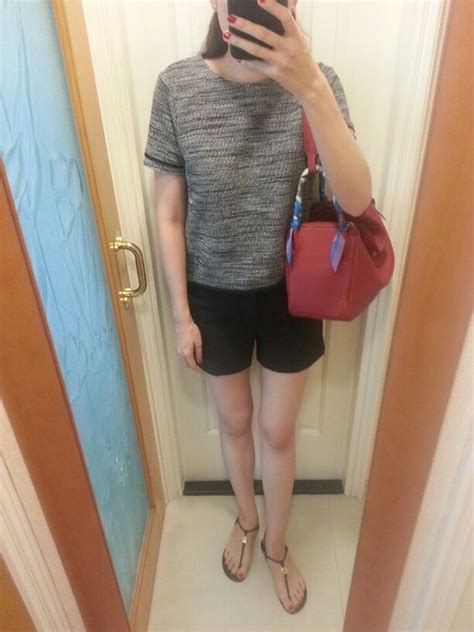 hnm top hnm top zara shorts burch sandels hermes lindy 30