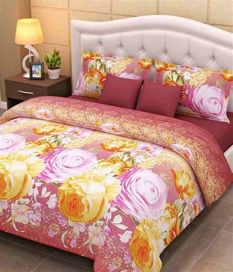 home creations soft 3d bedsheet buy home creations
